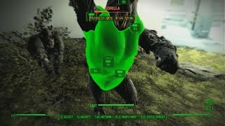 getlinkyoutube.com-Fallout 4 : The institute Gorillas gone wild