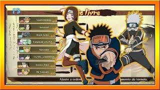 getlinkyoutube.com-Naruto Storm 4 - TORNEIO ONLINE #11 OBITO/KAKASHI/RIN (SAPATADA KID)