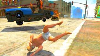 getlinkyoutube.com-GTA V Unbelievable Crashes/Falls - Episode 17