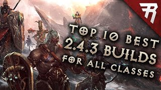 getlinkyoutube.com-Top 10 Best Builds for Diablo 3 2.4.3 Season 9 (All classes)