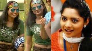 Vijay tv Madhumila Rare Navel HD~RP