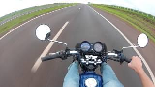 getlinkyoutube.com-Titan Azul / Tops Speed :175Km / Acelerando com Fazer e Titan Prata .