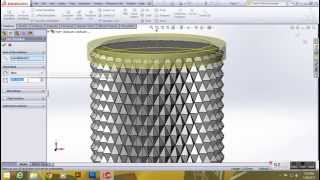 how knurl in solidwork