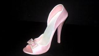 getlinkyoutube.com-Fondant High Heel Shoe Tutorial