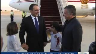 getlinkyoutube.com-جلالة الملك يستقبل الأمير علي في مطار الملكة علياء الدولي بعد عودته إلى أرض الوطن