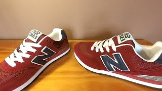getlinkyoutube.com-¡Baratísimas! New Balance 574|Aliexpress|NB shoes|