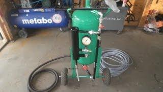 Piaskarka ciśnieniowa domowej roboty 50 L