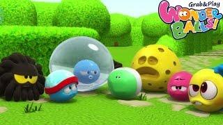 WonderBalls Playground - Cartoon | Wonderballs: Ep#52 WonderBalls Concert | Cartoons For Children