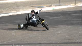 getlinkyoutube.com-Triciclo Drift com motor cg 125