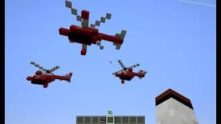 getlinkyoutube.com-Вертолёт в minecraft