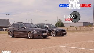 TWO BMW E46 330D TOURING