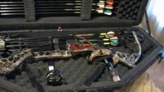 getlinkyoutube.com-Crossbows vs Compound Bows - PART 2