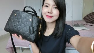 Ever | LV MONTAIGNE BB review & what's in my bag|我的包包里有什么
