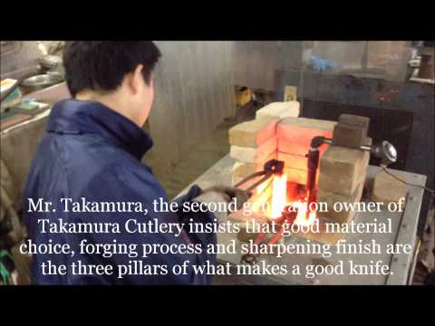 Behind the Scenes at Takamura Cutlery: Part 1- Heat Treating & Hammering