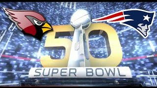 getlinkyoutube.com-Super Bowl 50 Arizona Cardinals vs New England Patriots Madden 16 2016