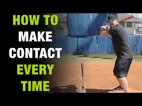 How To Make Better Contact When Hitting A Baseball  [How To Tuesday Ep.2]