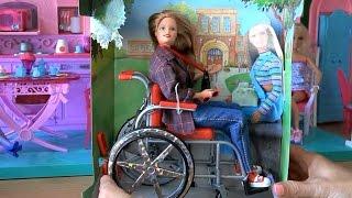 getlinkyoutube.com-Распаковка, новая кукла Барби ( Barbie ) Becky I'm the School Photographer Doll doll figure