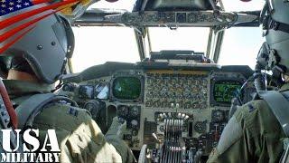 getlinkyoutube.com-B-52爆撃機コックピット映像(離陸・空中給油・タッチ&ゴー) - B-52 Bomber Cockpit View