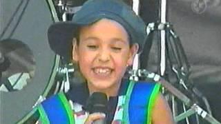 """getlinkyoutube.com-Azul Como El Cielo """"DaNNa PaoLa"""" Concierto Por Un Mundo Feliz - Chicomcel 2mil4"""