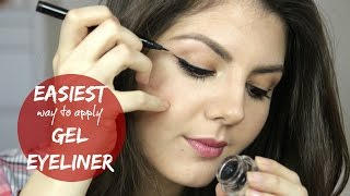 getlinkyoutube.com-EASIEST WAY TO APPLY GEL EYELINER? | Beauty Bit