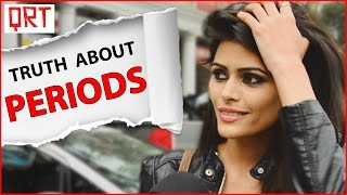 getlinkyoutube.com-Girls about PERIODS Facts   TRUTH about Menstruation and PMSing   Quick Reaction Team