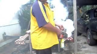 getlinkyoutube.com-Homemade Mosquito Fogger 2/Penyembur Nyamuk Buatan Sendiri 2