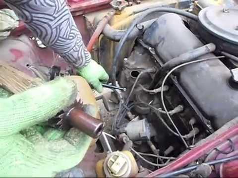 Как восстановить давление масла в двигателе ВАЗ,если Вы в дороге.