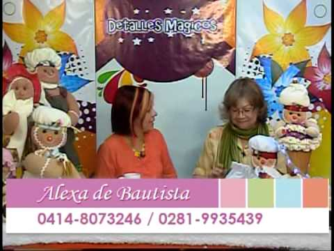 Detalles Magicos con MimiLuna Invitada Alexa de Bautista.www.tremendaluna.com