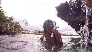 getlinkyoutube.com-Gyrocopter Girl Aruba Snorkel with S & Ibby & E