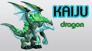 How To Get Kaiju Dragon In Dragon City and  Review Eggs Level Up