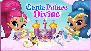 getlinkyoutube.com-Shimmer And Shine: Genie Palace Dress-up - Nickjr Games