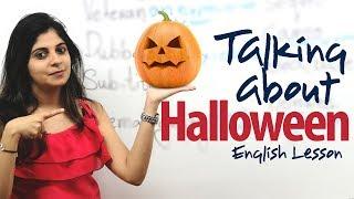 Halloween - English Lesson ( ESL )