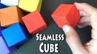 Origami Seamless Cube