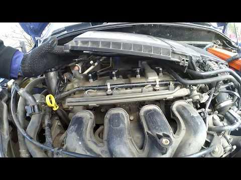 Влог: Замена и проверка катушек зажигания, Mazda Demio DY3W