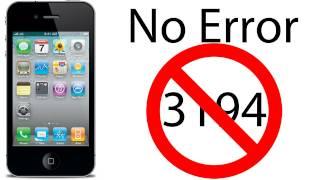 getlinkyoutube.com-Como solucionar el error 3194 al Actualizar o Restaurar tu iPhone/iPad/iPod Touch