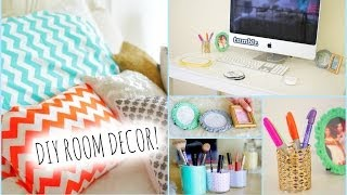 getlinkyoutube.com-DIY Room Decorations for Cheap! + How to stay Organized