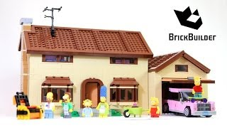 getlinkyoutube.com-Lego The Simpsons House 71006 build and review