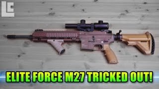 getlinkyoutube.com-Elite Force M27 IAR Tricked Out! (Airsoft SC Village Viper Gameplay/Commentary)