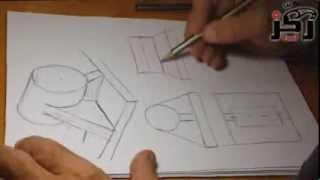 getlinkyoutube.com-محاضرة رقم 3 د.ماجد نجيب ، رسم هندسي ، مقدمة من أسرة ركز_صوت إعدادي