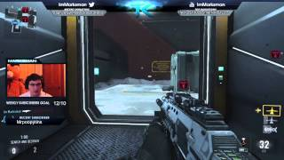 getlinkyoutube.com-WE GOT MAX PRESTIGE IN ADVANCED WARFARE! (Level up fast in SnD)