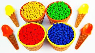 getlinkyoutube.com-Play-Doh Dippin Dot Ice Cream Bowl Surprise Toys Peppa Pig Mickey Mouse Littlest Pet Shop FluffyJet