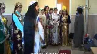 getlinkyoutube.com-Tadzhikistan long hair pageant