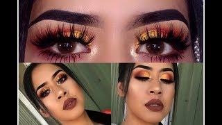 Sunset Inspired Makeup Look | Nancy Aguilar