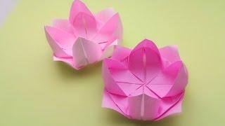 Origami Lotus ...พับดอกบัวสวย...