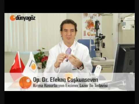 Kırma Kusurlarının Excimer Lazer ile Tedavisi - Op. Dr. Efekan Coşkunseven