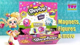 getlinkyoutube.com-Shopkins Magnets Series 2 Blind Bag Figure Poster Pack Opening Toy Fun | PSToyReviews