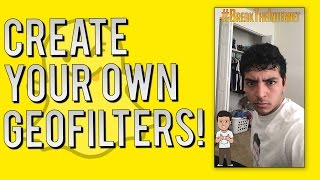 getlinkyoutube.com-Snapchat Update - How to Make Your Own Personal Geofilters (On-Demand Filters)