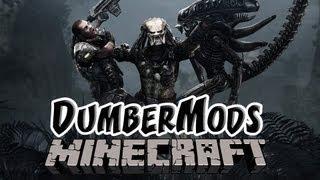 getlinkyoutube.com-Minecraft: Mods | Aliens Vs Predator Mod