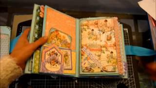 getlinkyoutube.com-'Never Say Never' Graphic 45 Secret Garden Mini Album - Kelly S
