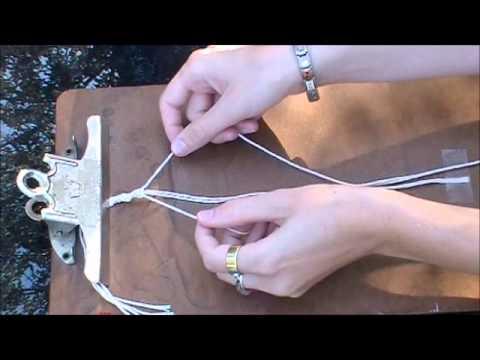 DIY Jewellery - Macrame Styles: Micro-Macrame; Beading; Half-Knots